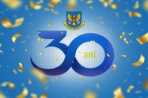 30 de ani de activitate, 30 de ani de provocări, 30 de ani de realizări