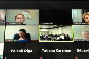 Serviciul Fiscal de Stat în instruiri on-line cu auditorii Curții de Conturi a RM