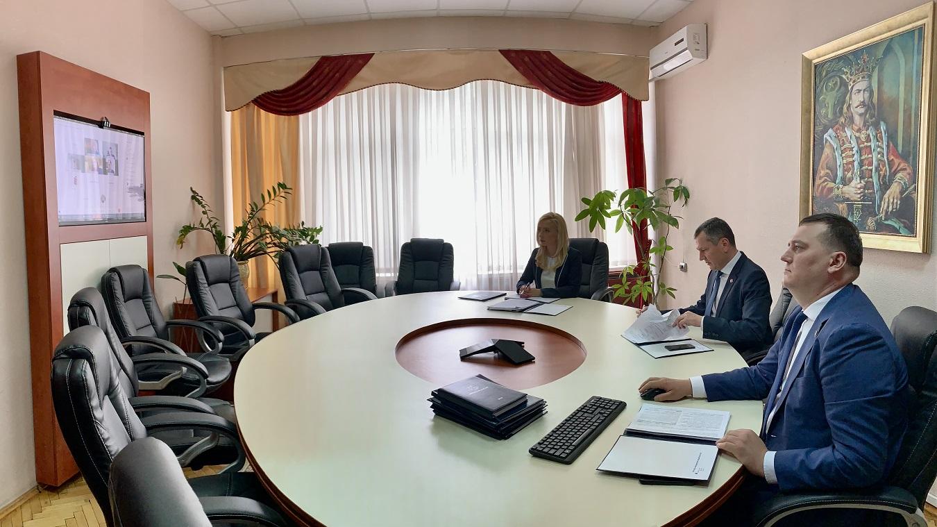 Conducerea SFS a avut o ședință online cu reprezentanții Băncii Mondiale