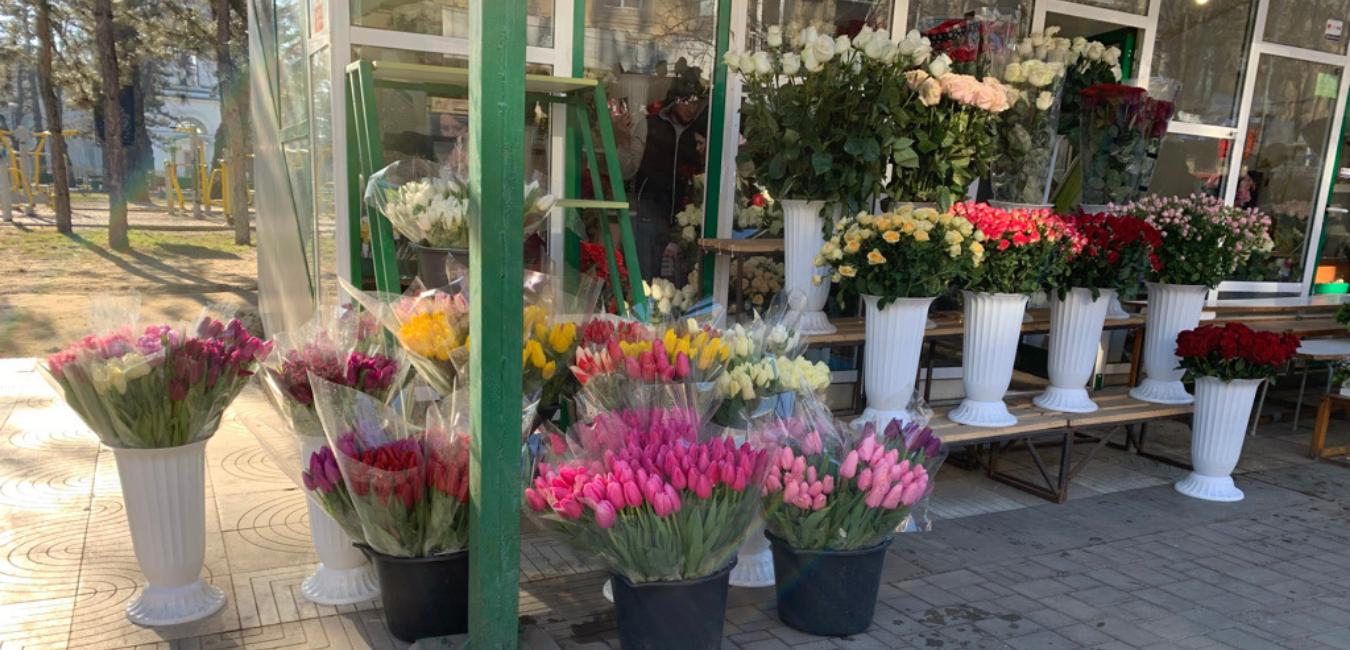 SFS va monitoriza timp de 2 zile comercianții de flori din municipiile Chișinău și Bălți
